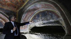 梵蒂冈发现最古老耶稣门徒画像 追溯至四世纪末