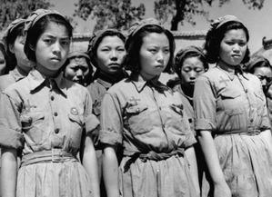 实拍抗日战争时期中国女军人的飒爽英姿