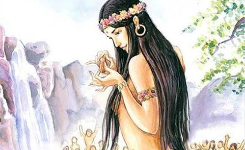 女神一号,女娲人类老祖宗