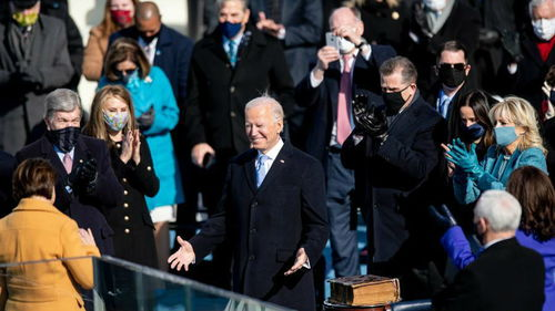 美媒拜登就任美国总统收到他们的祝贺