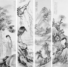 张大千字画(中国著名画家张大千画)