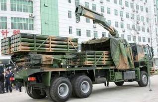 图中出现的火箭炮是我军新型模块化122毫米40管火箭炮.