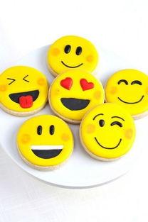 当Emoji变成甜点 简直要笑哭了