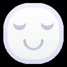 可爱白色小人的表情PNG图标