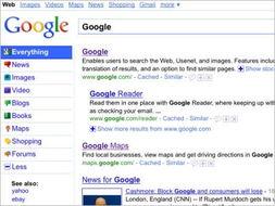 谷歌对搜索结果页面左侧选项进行了进一步调整(以上图片均来自互联...