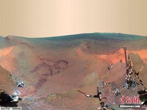 2014年1月,美国宇航局(nasa)公布了一组火星漫游器机遇号在火星表面拍的高清全景图像.