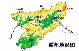 中國風水地圖