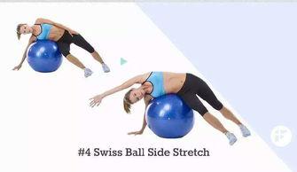 瑜伽球的运动方法