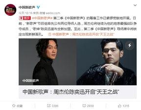 节目组一直有意邀请的陈奕迅终于确认加盟《新歌声》,成为第二季导师.