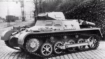 1号坦克坦克仅5.4吨,却造就二战德军的无敌