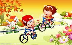 成长骑自行车作文400字左右
