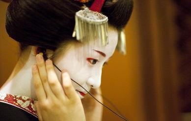 艺伎,(geisha)日本传统职业.