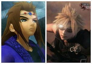 秦时明月 和 最终幻想7 画面是同一类型的吗