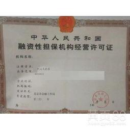 深圳融资担保公司代办