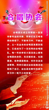合唱协会换届书面报告