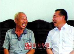 赵作海新居建成河南高院院长登门道歉