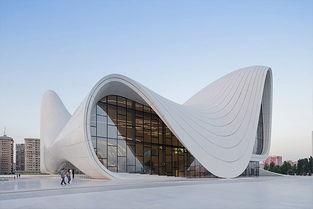 阿塞拜疆阿利耶夫文化中心(heydaraliyevcentre)-扎哈·哈迪德