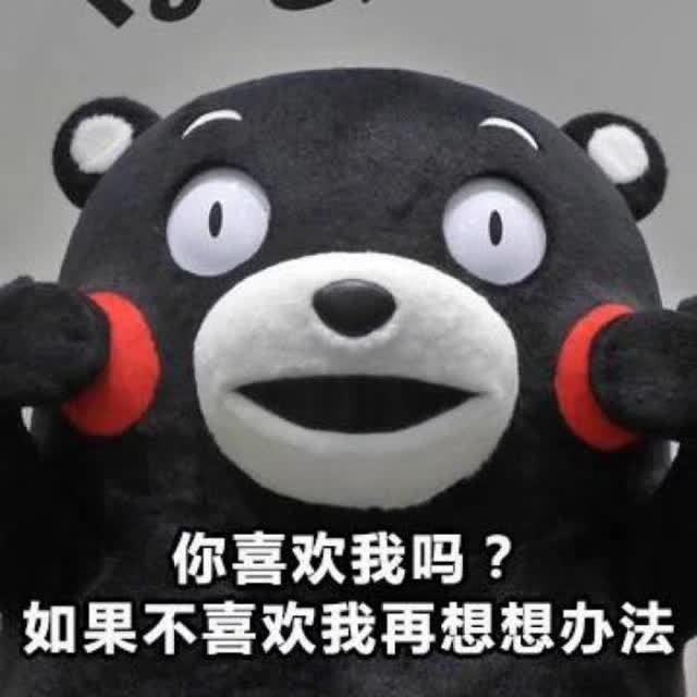 【熊本熊系列】你喜欢我吗