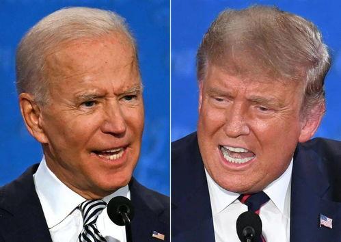 美国总统大选进行首场辩论,拜登直接叫特朗普闭嘴
