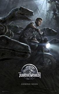 侏罗纪世界 曝新海报 星爵 与迅猛龙一起奔跑