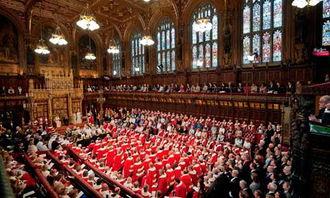 5月25日,伦敦,英国新议会举行开幕大典。