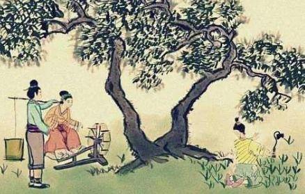 四时田园杂兴的作者(初夏江南的田园景色。)