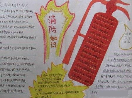 关于消防知识的作文题目
