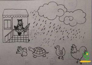 小学一年级看图写话专项练习 七
