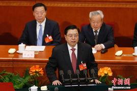 全国人大常委会委员长张德江