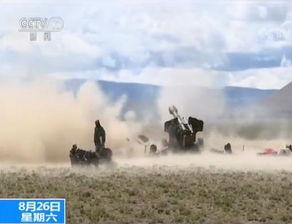 场面震撼西藏军区海拔4600米高原跨昼夜实弹射击