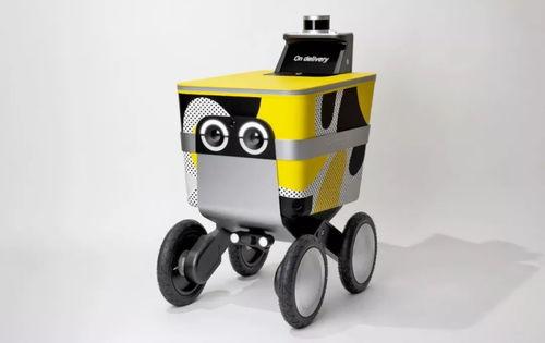 postmates外卖公司的serve送餐机器人