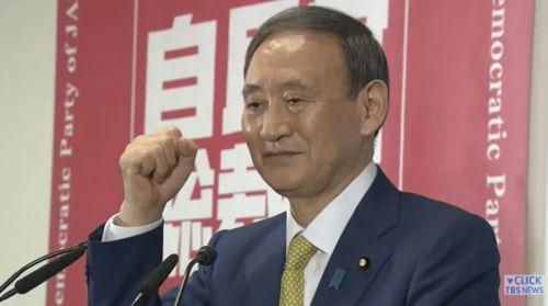 共同社菅义伟就任第99任日本首相,7年零8月来首相首次易人