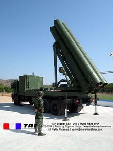 泰国仿制的ws-1b型火箭炮.(