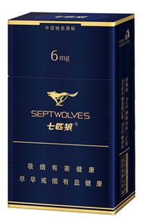 纯雅七匹狼(七匹狼的香烟多少钱)