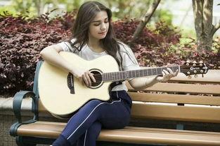 学弹吉他找到感觉了