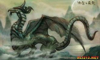 青龙鲛人大集合 盘点 山海经 中出现的上古神兽