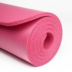 瑜伽垫初学者适合多厚的垫子
