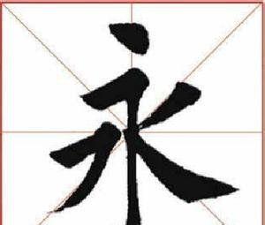 永字八法指的是什么(什么叫做永字八法?)