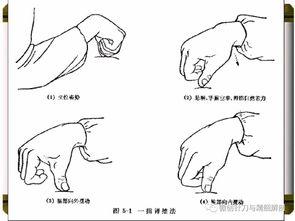 一些按摩常用手法直观的动画演示!!  按摩手法渗透力怎么练