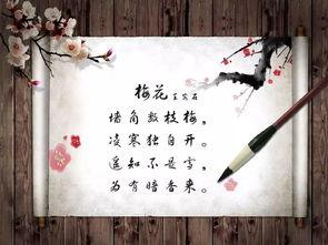 赞颂梅花的古诗词名句