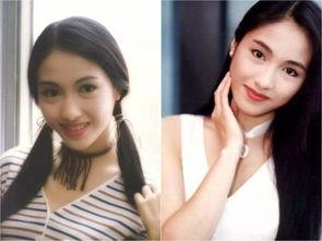 80年代的香港女星,朱茵 黎姿,简直美得不可方物
