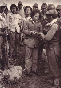 抗日战场上被日军俘虏的中国女兵