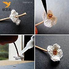 钩针编织花朵图解