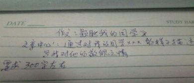 同学的帮助300字作文