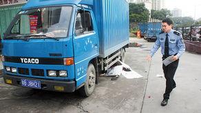 深圳货车3次碾压女子案肇事司机被刑拘