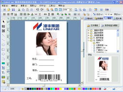 labelmx条码标签设计软件 软件界面图