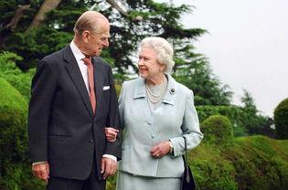 英国女王伊丽莎白二世和菲利普亲王在马耳他二度蜜月