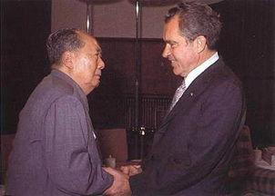 1972年毛泽东与尼克松会谈绝密记录 谈了什么