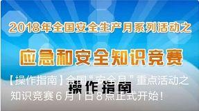 6月安全教育知识竞赛