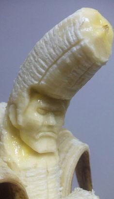 寂寞男人吃香蕉 强悍创意 舌造 魔兽BOSS